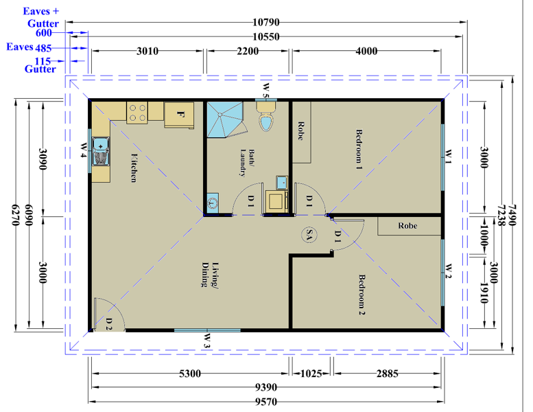 Granny Flat Floor Plans Images
