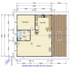 FLOOR PLAN - GRANNY FLAT AVALON