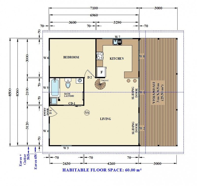 Granny flats northern beaches avalon granny flat project for Floor plans granny flats
