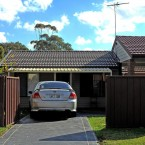 another front view of our minto granny flat