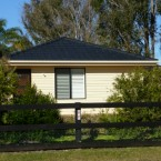 front view of the penrith granny flat