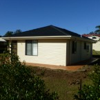 rear view of our penrith granny flat