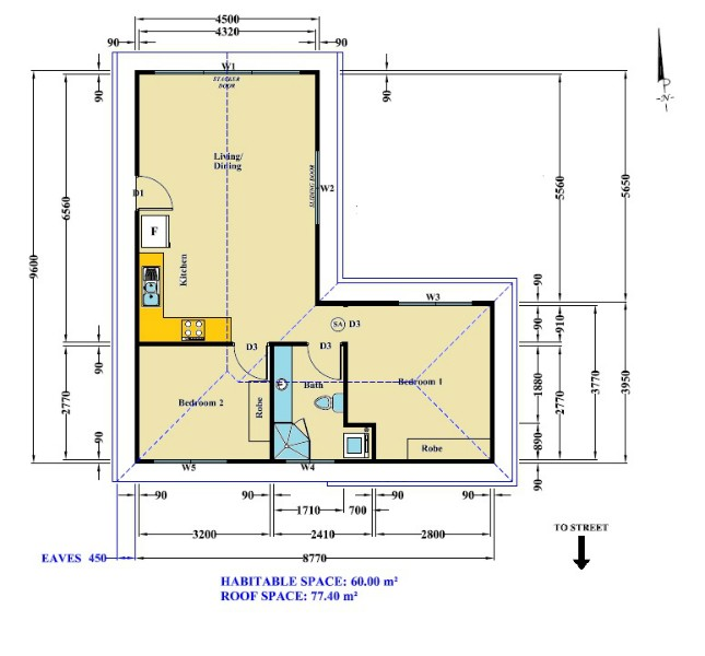 Banksia granny flat floor plans best free home for Floor plans granny flats