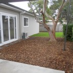 granny-flat-rear-yard and landscaping at blacktown sydney