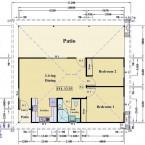 Granny Flat Seven Hills NSW Floor Plan