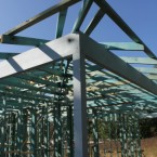Frame construction at seven hills grnny flat in NSW