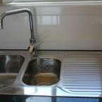 seven hills granny flat kitchen sink and tapware