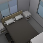 bedroom two render