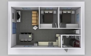 The Belinda- 2 Bedroom Granny Flat Design