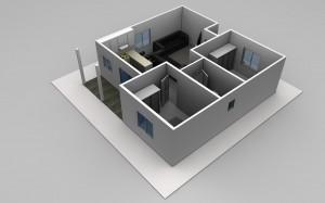 The Kenneth - 2 Bedroom Granny Flat Design