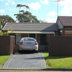 minto granny flat front view