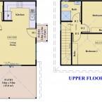 Floor Plan 2 Storey Granny Flat